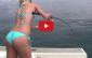 video pescadora sexy - pesca embarcada