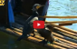 pesca com pato