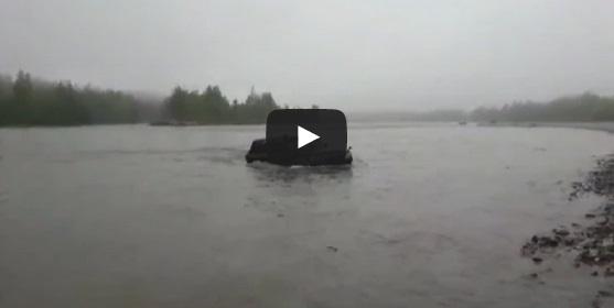 video de pescadores a ir para a pesca russia