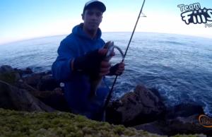 Nuno Costa Robalos com Crazy Sand Eel