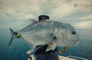 Pesca com drone Xareu girante!