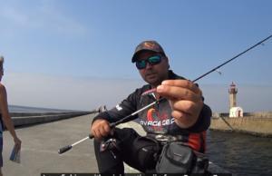 Pesca de mar Robalo, Tainhas e Savelha Mini casting Jig - Savage Gear.