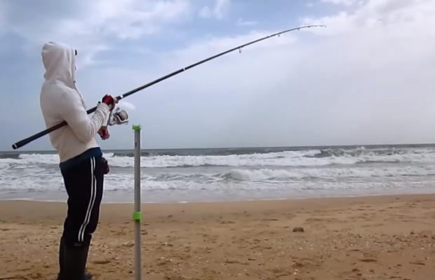 Pesca Surfcasting pelas praias do algarve